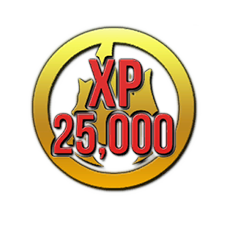 25,000 XP Booster