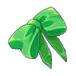 F Ribbon Green